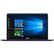 "Laptop Asus ZenBook UX550VE-BN014R, 15.6"" FHD, Intel Core I7-7700HQ, nVidia GeForce GTX 1050 Ti 4GB, RAM 8GB, SSD 256GB, Windows 10 Professional"
