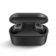 3D Stereo Sound Bluetooth 5.0 Earphone Portable TWS Wireless Touch Earbuds With Charge Case Sport Bass Headset - Black
