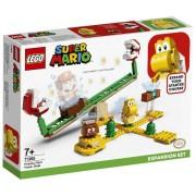 Lego Super Mario (71365). Scivolo della Pianta Piranha. Pack di E...
