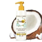 Lovea Lait Corps Hydratant à l'Huile de Coco Certifié Bio* 250 ml