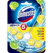 WC fertőtlenítő, 1 db-os, DOMESTOS Power 5, lime (KHT541)