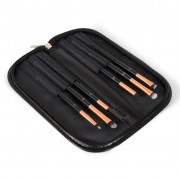 Rio Six Piece Eye Essential Cosmetic Brush Set BREY