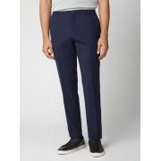 Ben Sherman Deep Blue Structure Tailored Fit Suit Trouser 38L Blue