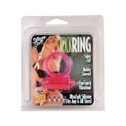 Roze vibro prsten za odrzavanje erekcije SEVCR00416