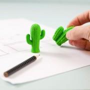 Kikkerland Cactus gummen (set van 2)