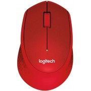Mouse Logitech Optic Wireless M330 Silent Plus (Rosu)