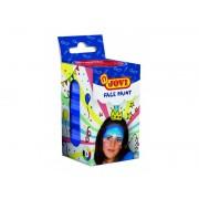 Vopsea de pictat pe fata 6 culori x 8 ml