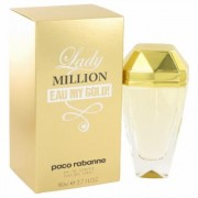 Lady Million Eau My Gold For Women By Paco Rabanne Eau De Toilette Spray 2.7 Oz