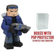 Diamond Select Toys Dc Vinimates The Flash Tv Series: Captain Cold Vinyl Figure (Bundled with Pop Box Protector Case)