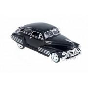 1948 Chevy Aerosedan Fleetline Hard Top, Black - Motor Max 73266AC/BK - 1/24 Scale Diecast Model Toy Car