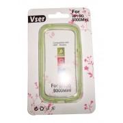Husa bumper verde deschis pentru Samsung Galaxy S3 Mini i8190 / S3 Mini VE i8200