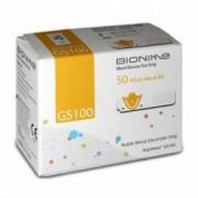 Set 2 Cutii Teste Pentru Glicemie Bionime Gs100+Glucometru Gm100