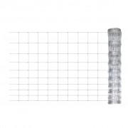 vidaXL Záhradný plot, pozinkovaná oceľ 50 m, 120 cm