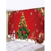 Rosegal Tissu İmperméable à L'eau de Sapin de Noël Largeur 91 x Longueur 71 pouces