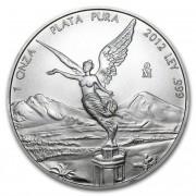 Stříbrná mince Mexico Libertad 1 oz 2012