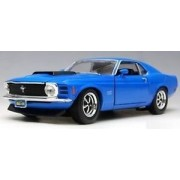1970 Ford Mustang Boss 429 Yellow 1:24 Diecast Car by Motor Max