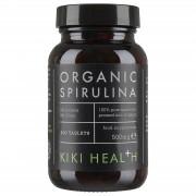 KIKI Health Organic Spirulina Tablets (200 Tablets)