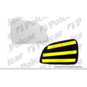 Geam oglinda Opel Astra H, 04.2007-12.2012 Dreapta, Crom, Fara incalzire, Convex, BestAutoVest 551055-E, cu banda adeziva Kft Auto