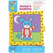 Nagy textilkönyv - Nyuszi aludni készül Galt