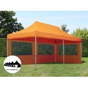 3x6m összecsukható pavilon Alutec Narancssárga (Economy Alutec)