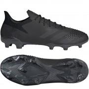 adidas Predator 20.2 FG Black - Zwart - Size: 44 2/3