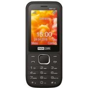 "Telefon Mobil MaxCom MM142, 2.4"", VGA, Dual SIM, 2G (Negru) + Cartela SIM Orange PrePay, 6 euro credit, 6 GB internet 4G, 2,000 minute nationale si internationale fix sau SMS nationale din care 300 minute/SMS internationale mobil UE"