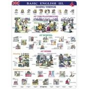 Basic English III - plansa de perete