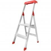 Escalera de Aluminio Cuprum 596-02N Uso Doméstico 90 Kg