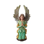Handbeschilderde Knielend Biddende Engel Urn (2.5 liter)