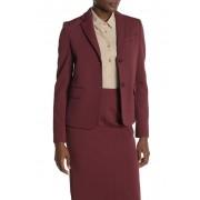 BOSS Jomanda Jersey Suit Jacket Regular Petite DARK RED