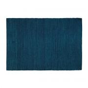 Alfombra azul yute 170x240cm GUNNY - Miliboo