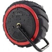 Renkforce Bluetooth® reproduktor Renkforce AdventureWheel1 hlasitý odposlech, odolná vůči stříkající vodě, AUX, černá, červená