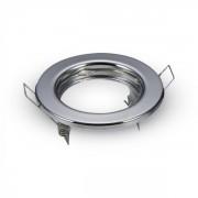Optonica GU10/MR16 beépítő keret / Fix / króm / OT5072