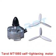 Generic CW black cap : Tarot MT1860 Rc Parts Mini Quadcopter Brushless Motor Aeromodelo Outrunner Motor Drone Diy Quadrocopter Kit Professional Drones