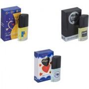 Skyedventures Set of 3 ILU-Kabra Black-Younge Heart blue Perfume