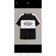 Stylogue Men's Multicolor Block Print Round Neck T-shirts