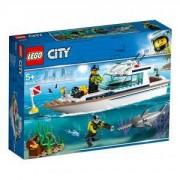 Конструктор Лего Сити - Яхта за гмуркане, LEGO City 60221