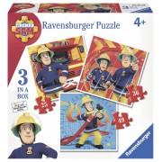 PUZZLE POMPIER SAM 25/36/49 PIESE - RAVENSBURGER (RVSPC07065)