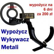 WYPOŻYCZANIE Wykrywacza Metali na 6 dni 200 zł