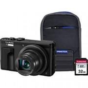 Panasonic Digital Camera Lumix DMC-TZ80 18.1 Megapixel Black + 32GB SD Card + Case