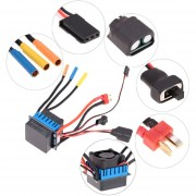 45A Brushless ESC Electric Speed Controller With 5.8V/3A SBEC For 1/10 RC Car