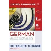 Complete German: The Basics (Book and CD Set): Includes Coursebook, 4 Audio Cds, and Learner's Dictionary [With Coursebook]