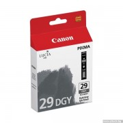 CANON PGI-29DGY Dark Grey Ink Cartridge (BS4870B001AA)