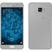 Husa Full TPU 360 (fata spate) pentru Samsung Galaxy A3 (2016) Gri Transparent