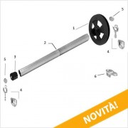 Rogiam Kit tapparelle con manovra a cingha per avvolgibili da max 18kg (Kitcinghia)