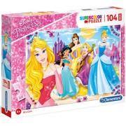 Puzzle Maxi Printesele Disney Clementoni 104 piese