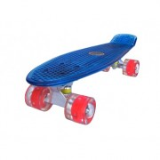 Penny board Mad Cruiser Full LED ABEC 7-albastru