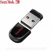 Memoria USB Flash Drive 16GB SANDISK Cruzer Fit Micro Negro