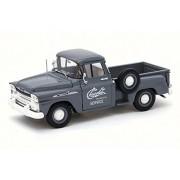 1958 Chevy Apache Stepside Pickup, Granite Gray - Castline M2 40300/55A - 1/24 Scale Diecast Model Toy Car