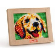 Set creativ pentru copii Mini Pixel Art Caine Quercetti